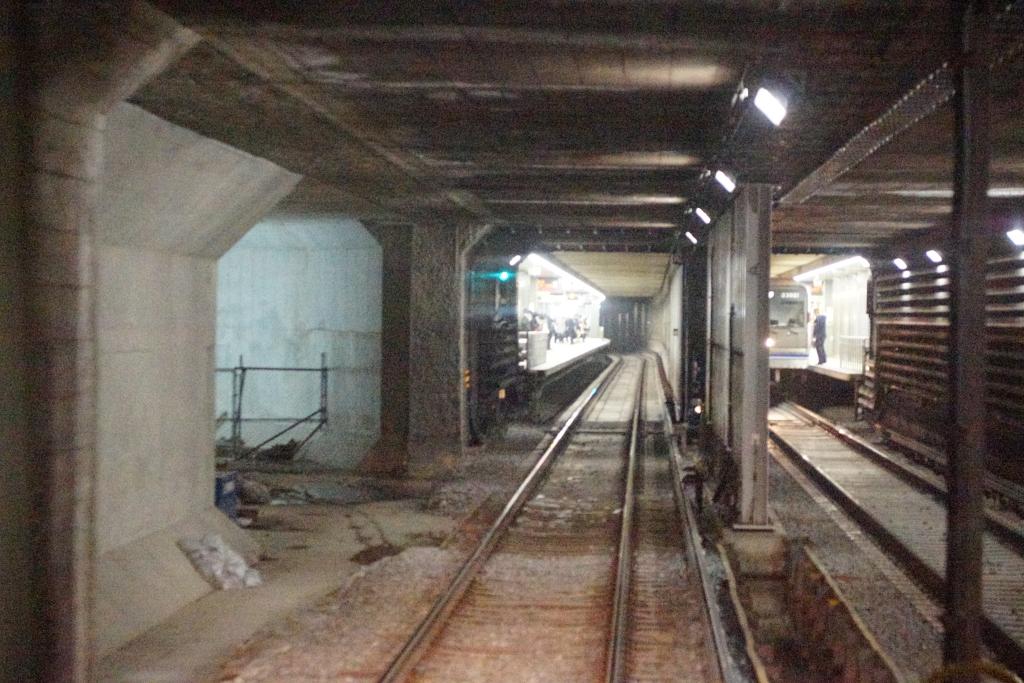 四つ橋線と中央線をつなぐ新トンネルが完成