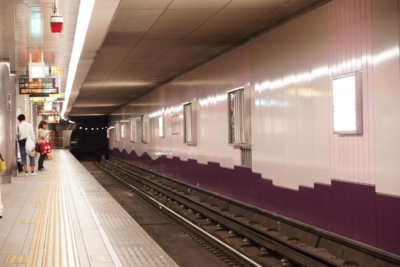 【谷町線】天満橋駅がリニューアル中