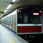 【御堂筋線】10系第7編成(1107F) 廃車回送