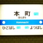 大阪市営地下鉄のサインシステム・駅名標のフォント