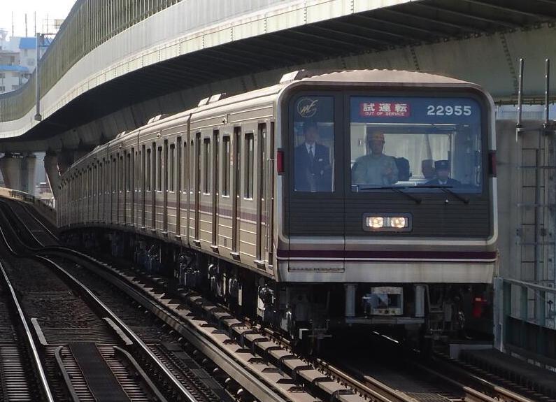 【谷町線】22系第55編成(22655F) 試運転