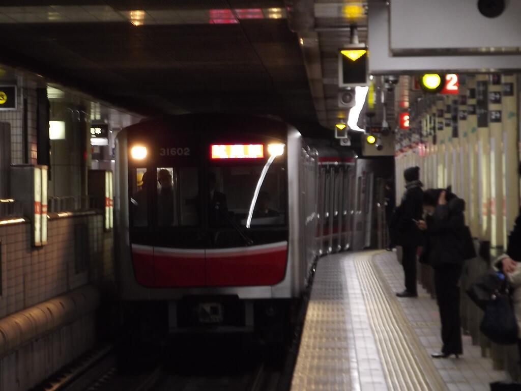 【御堂筋線】30000系第2編成(31602F) 試運転