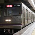 【谷町線】22609F(22系第9編成)森之宮検車場へ入場