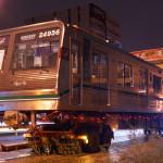 【中央線】元四つ橋線車両(23606F)が24系(24656F)として改造、搬入