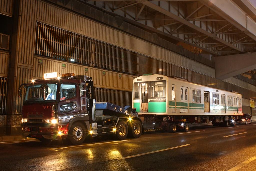 【中央線】2601F(20系第1編成)引退後の廃車陸送へ①