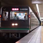 【中央線】元四つ橋線車両の24系56編成(24656F)が試運転!
