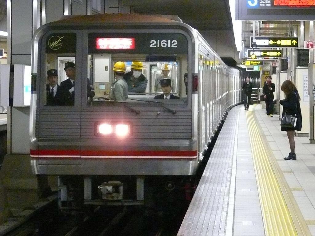 【御堂筋線】21612F(21系12編成)試運転・出場回送