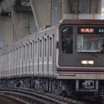 【谷町線】22608F(22系8編成)が定期検査・試運転