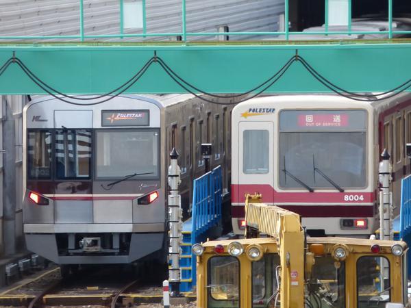 【北大阪急行】9002Fが姿をあらわす