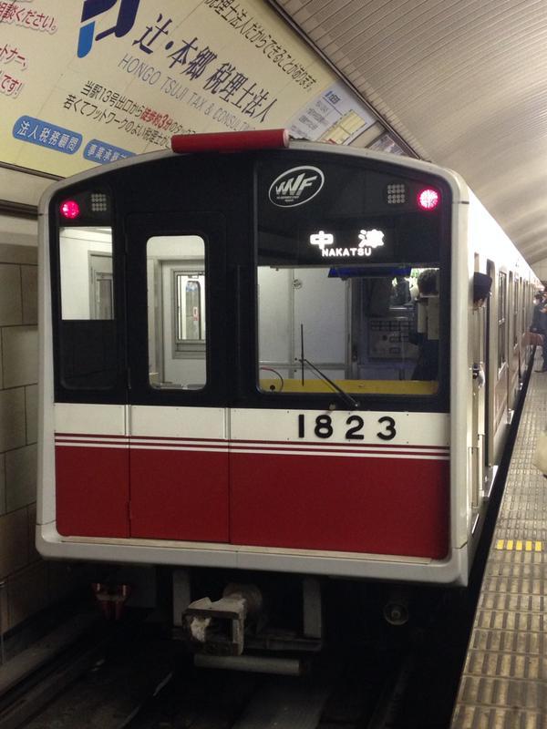 【御堂筋線】1123F(10系23編成)のヘッドライトがLED化