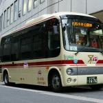 【これはすごい】大阪万博開催予定地の夢洲で自動運転バス試験、及び試乗会を開催!車種はなんとポンチョ