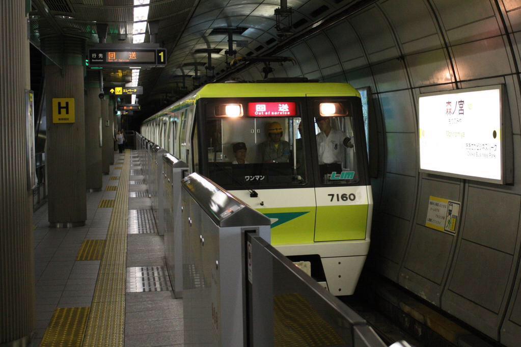 【長堀鶴見緑地線】7110F(70系10編成)リニューアルの後の試運転