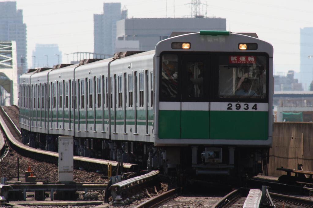 【中央線】2634F(20系34編成)試運転