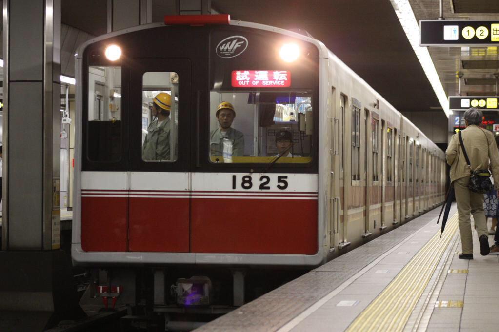 【御堂筋線】1125F(10系25編成)試運転