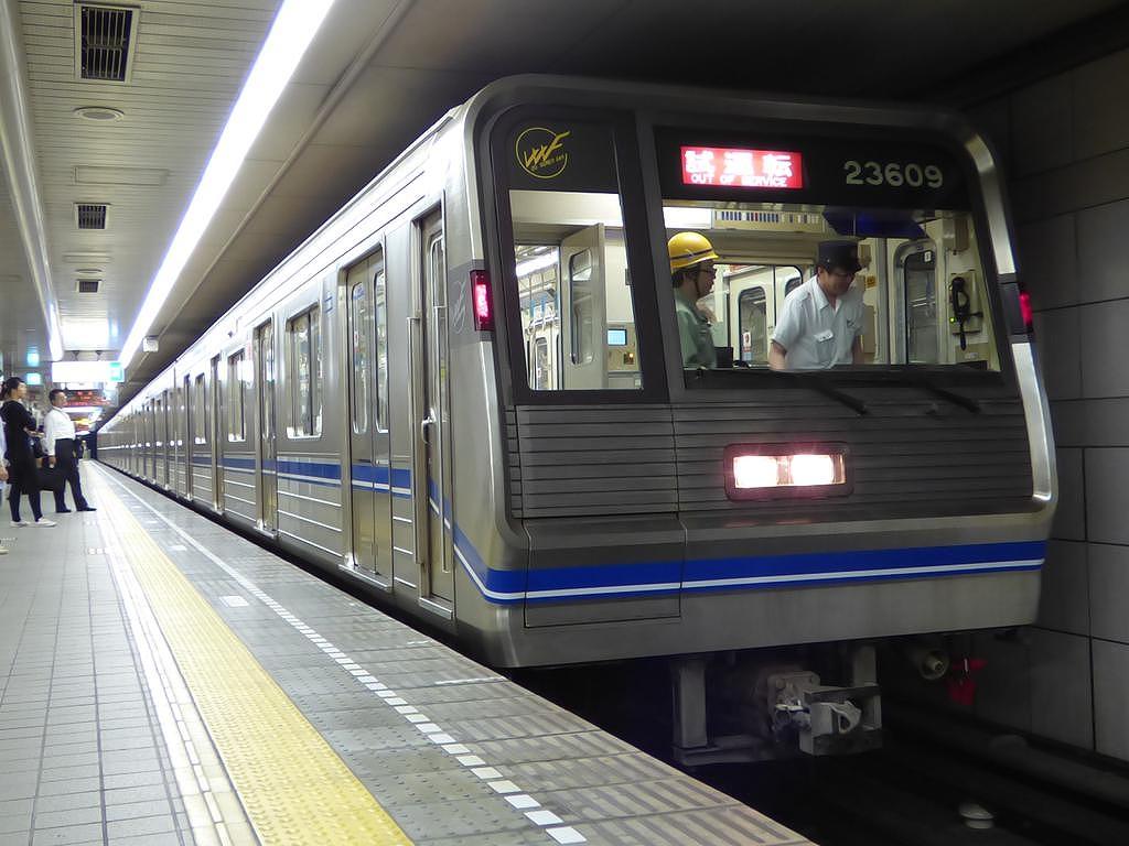 【四つ橋線】23609F(23系9編成)定期試運転