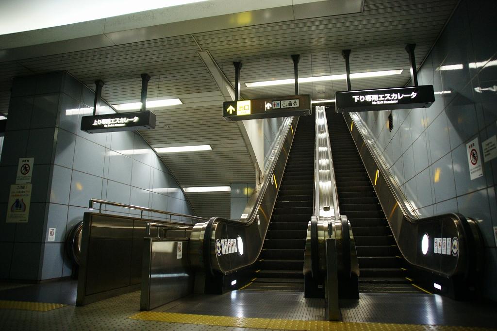 地下まで32.3m!大阪地下鉄で最も深い大阪ビジネスパーク駅に行ってみた