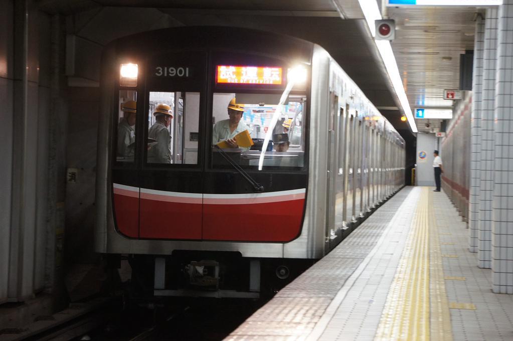 【御堂筋線】登場から4年!31601F(30000系1編成)初の定期検査・試運転