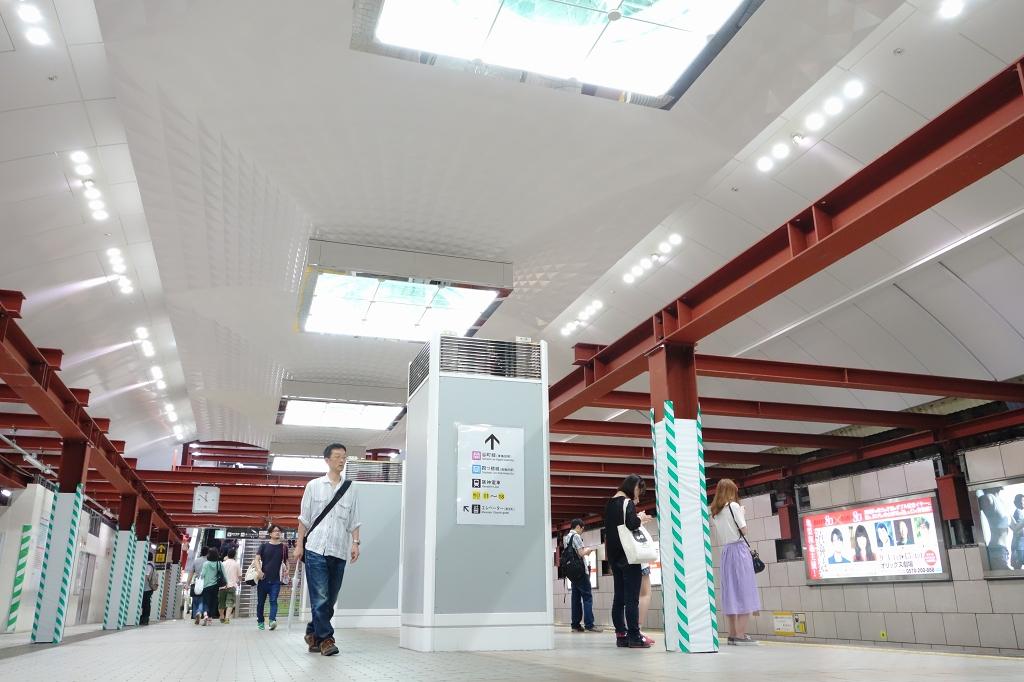 梅田駅のリニューアル工事中がだいたい終わってスゴそうなことになってるので見てきました