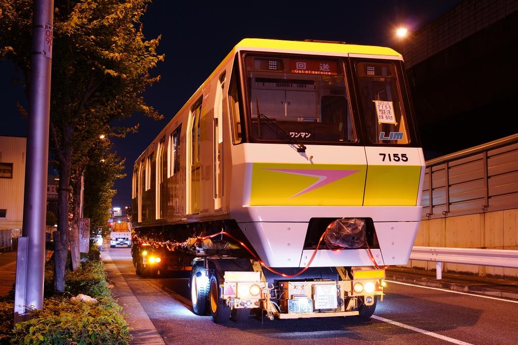 【長堀鶴見緑地線】噂のピンクな70系、7155F(70系5編成)が登場したので撮ってきました