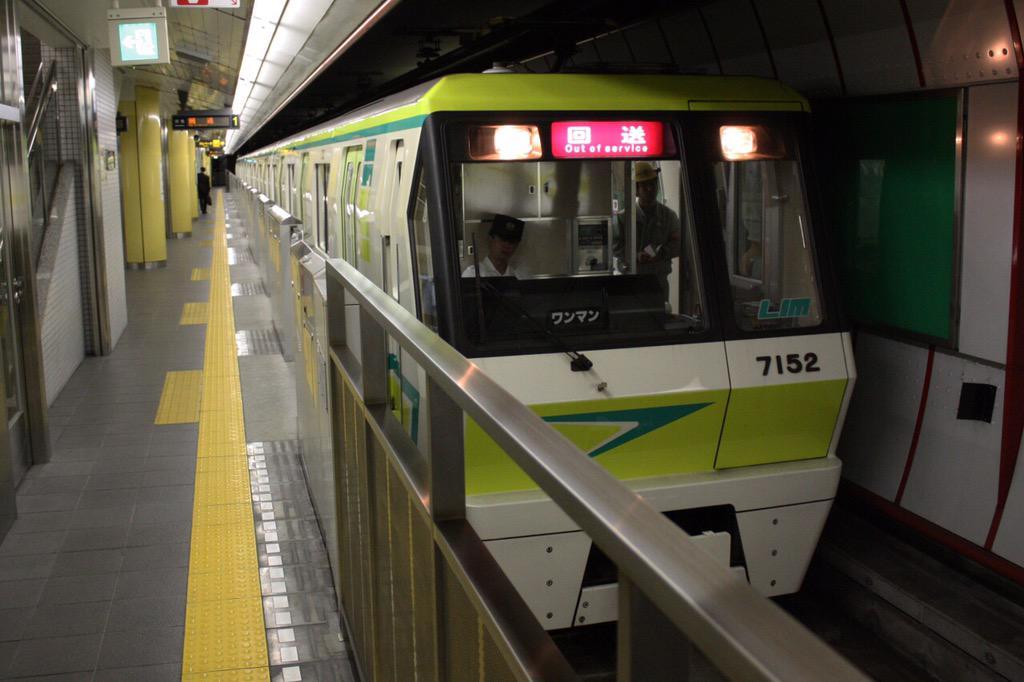 【長堀鶴見緑地線】7102F(70系02編成)リニューアルの後の試運転