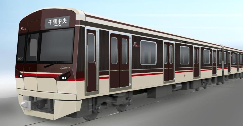 【北大阪急行】9003Fはカラーリングが阪急っぽくなって登場!