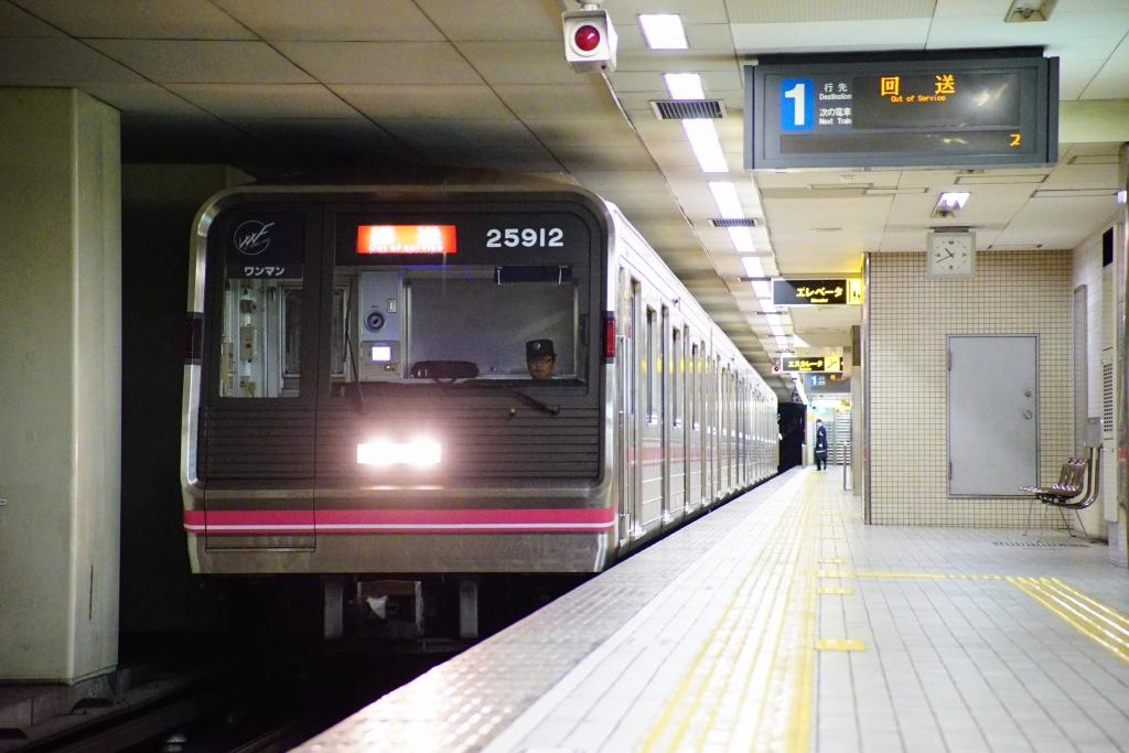 【千日前線】25612Fが緑木検車場へ入場