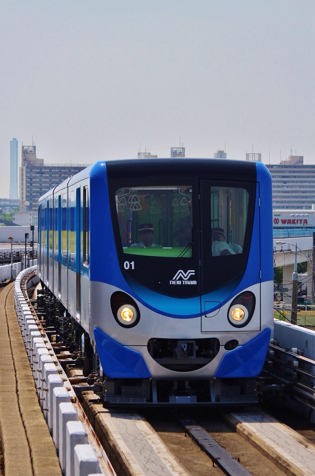 【速報】ニュートラム200系200-01Fが試運転!