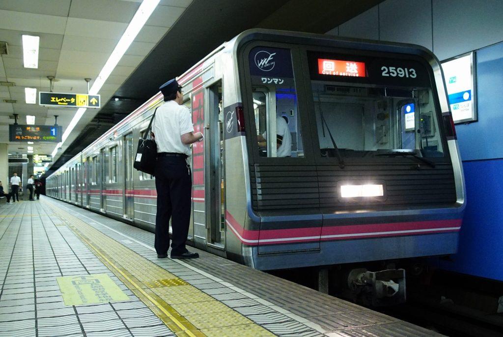 【千日前線】25613Fが緑木検車場へ入場