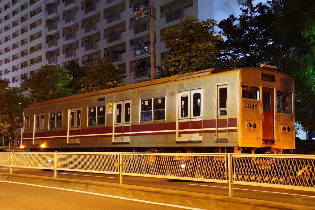 大阪市営地下鉄 谷町線 30系廃車陸送
