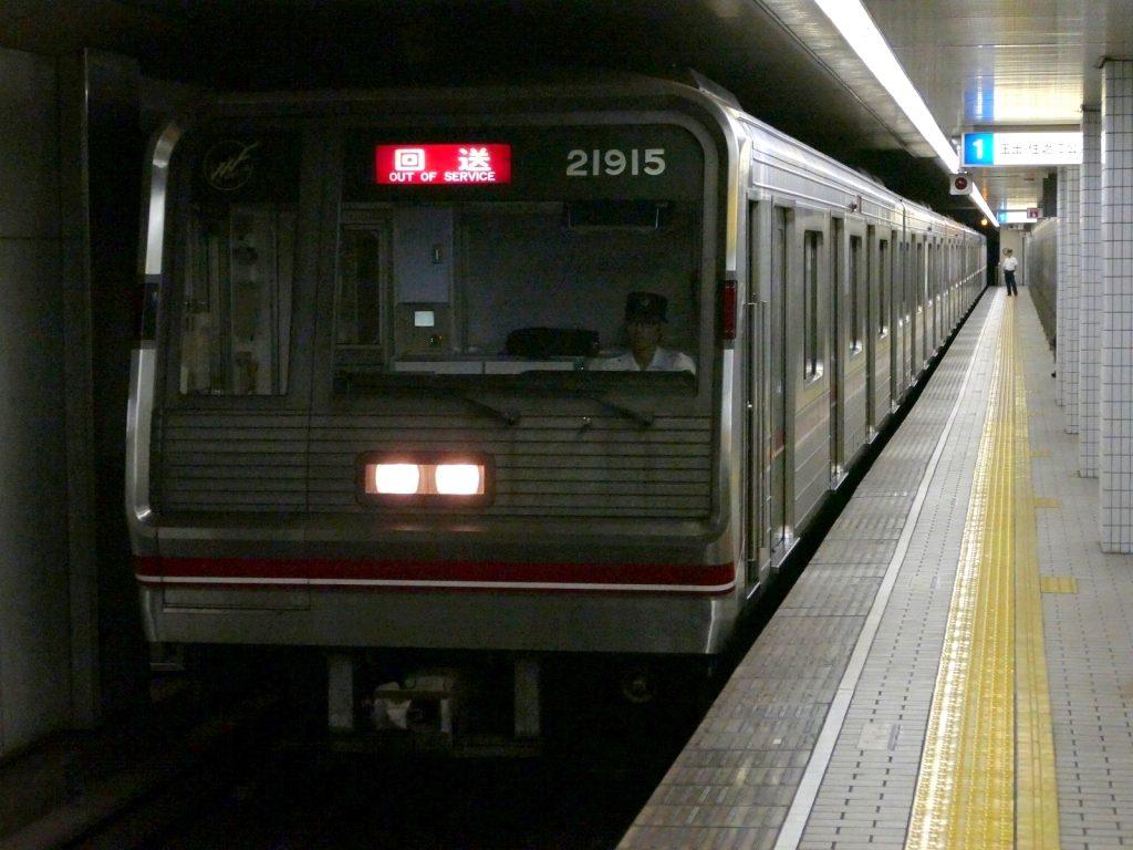 【御堂筋線】21615Fが緑木検車場へ入場