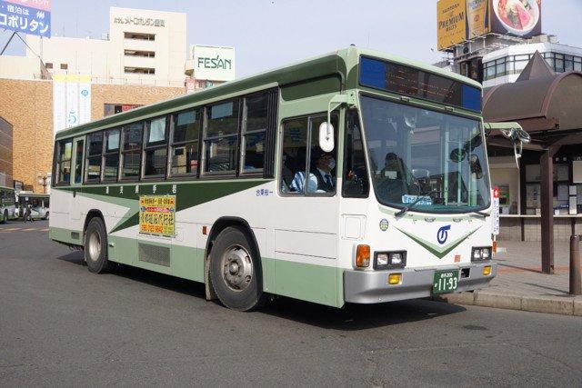 大阪市営地下鉄と似ている岩手県交通のバス…