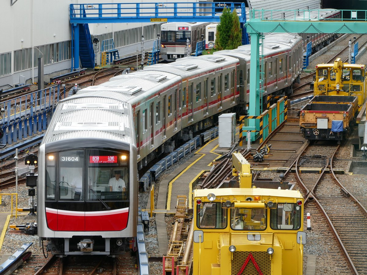 【北大阪急行】御堂筋線31604Fが返却される