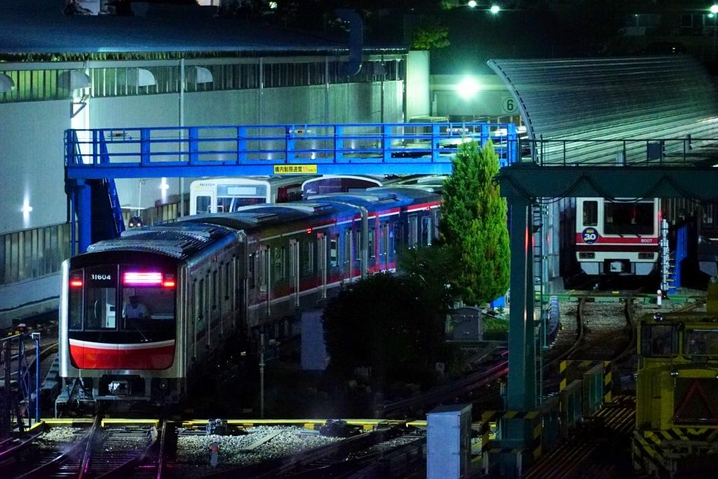 【御堂筋線】31604Fが北大阪急行での習熟試運転の為、貸出へ