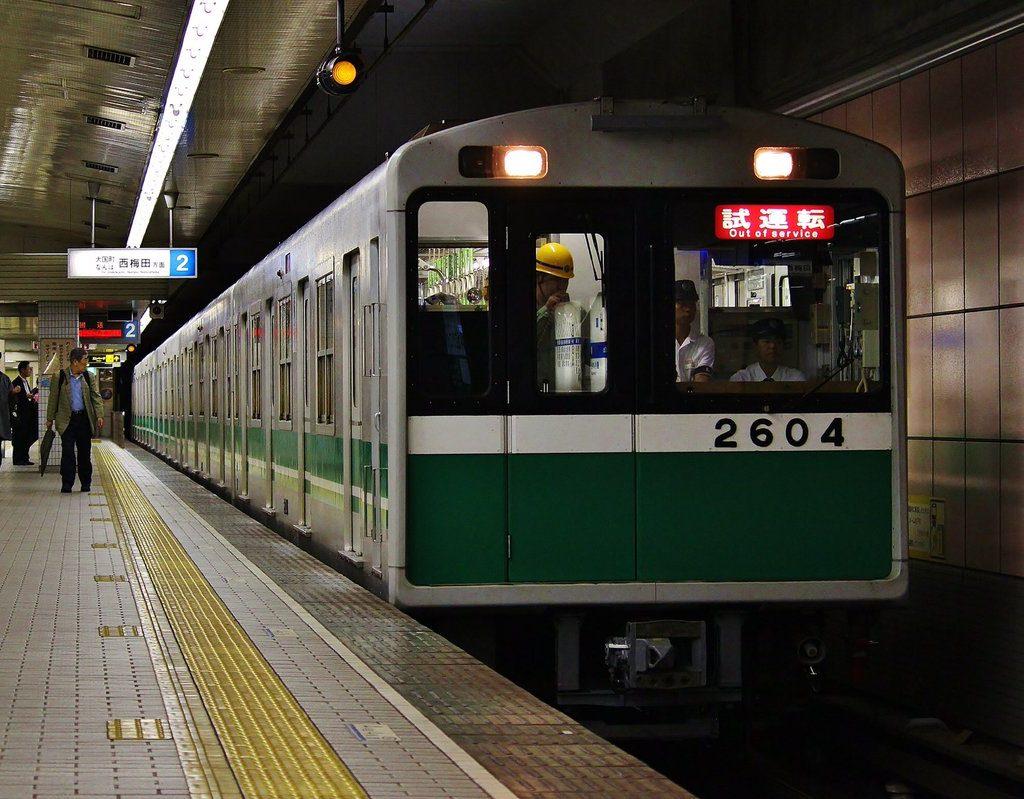 【中央線】2604F(20系4編成)が四つ橋線内で試運転を実施