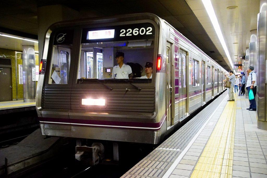 【谷町線】臨時「真田抜け穴列車 2016 大坂秋の陣」が運転されたので追っかけてみました