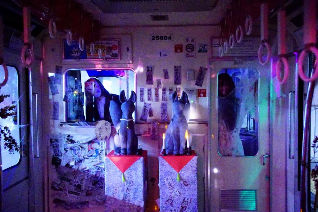 【追記あり・千日前線】ガチで怖い「ハロウィンゴーストトレイン」が野田阪神駅で今年も開催…ひぃ