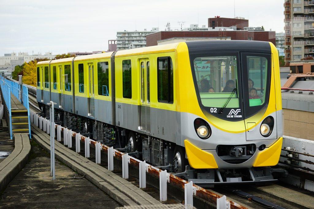 ニュートラム 200系 黄色