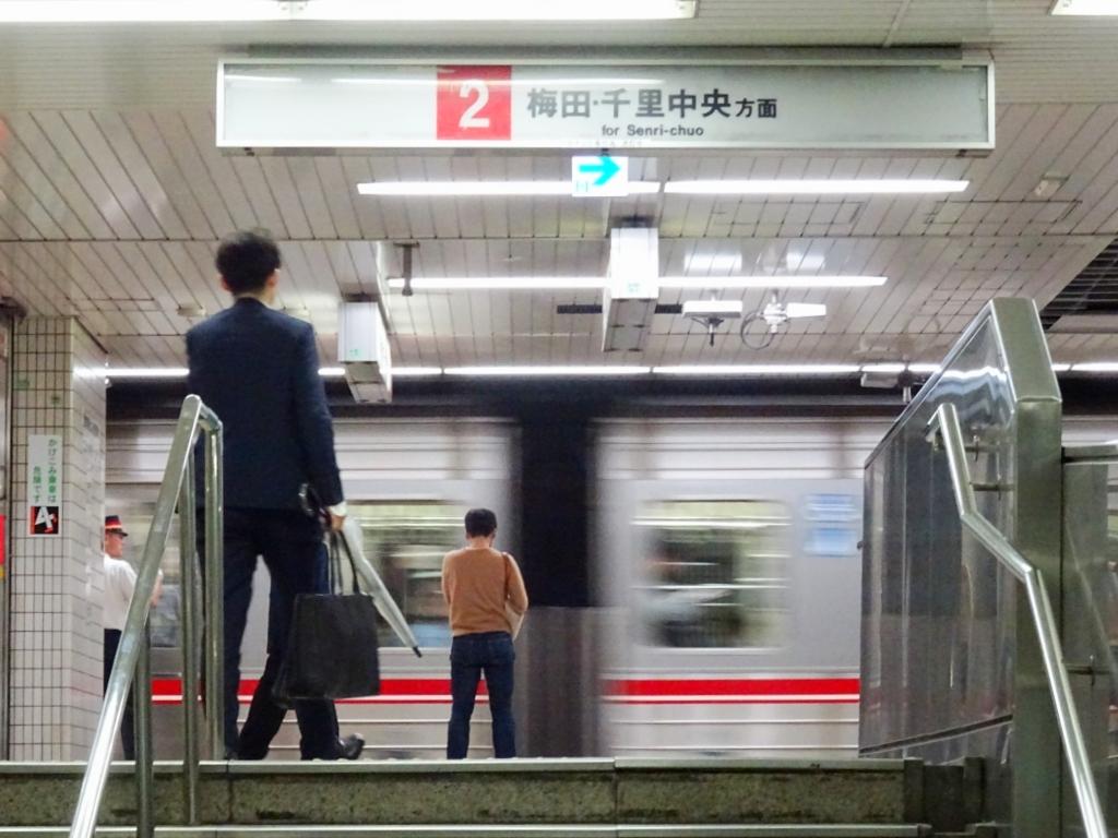 【千日前線】なんば駅のサインシステムがリニューアル工事を開始