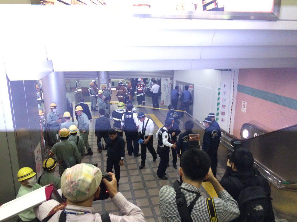 【御堂筋線】心斎橋駅で発煙が発生し一時列車が通過…原因は