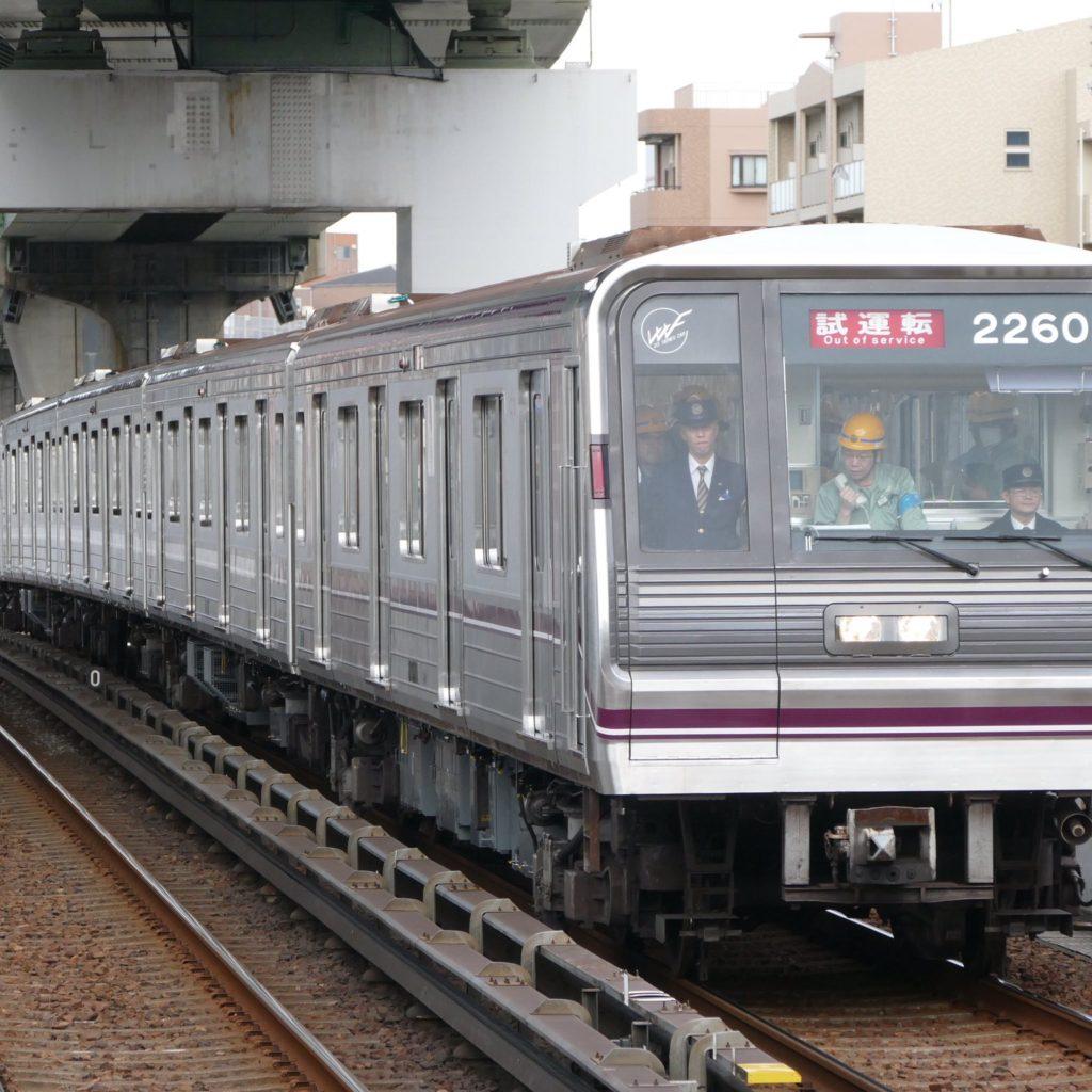 【谷町線】22605Fがリニューアル!中央線で試運転