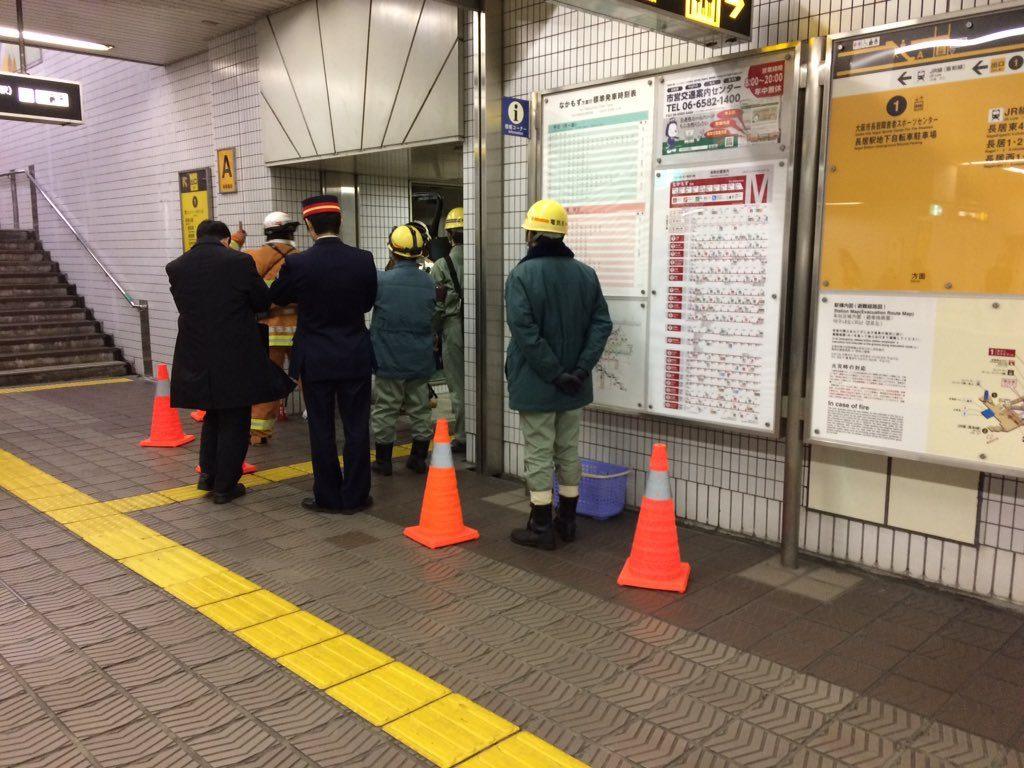 【御堂筋線】長居駅でエレベーターから発煙…列車は一時通過扱いに