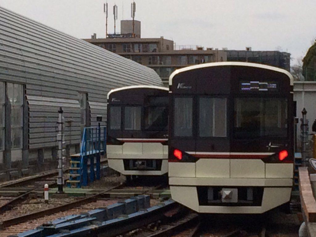【北大阪急行】新型車両 9004Fが姿を見せる