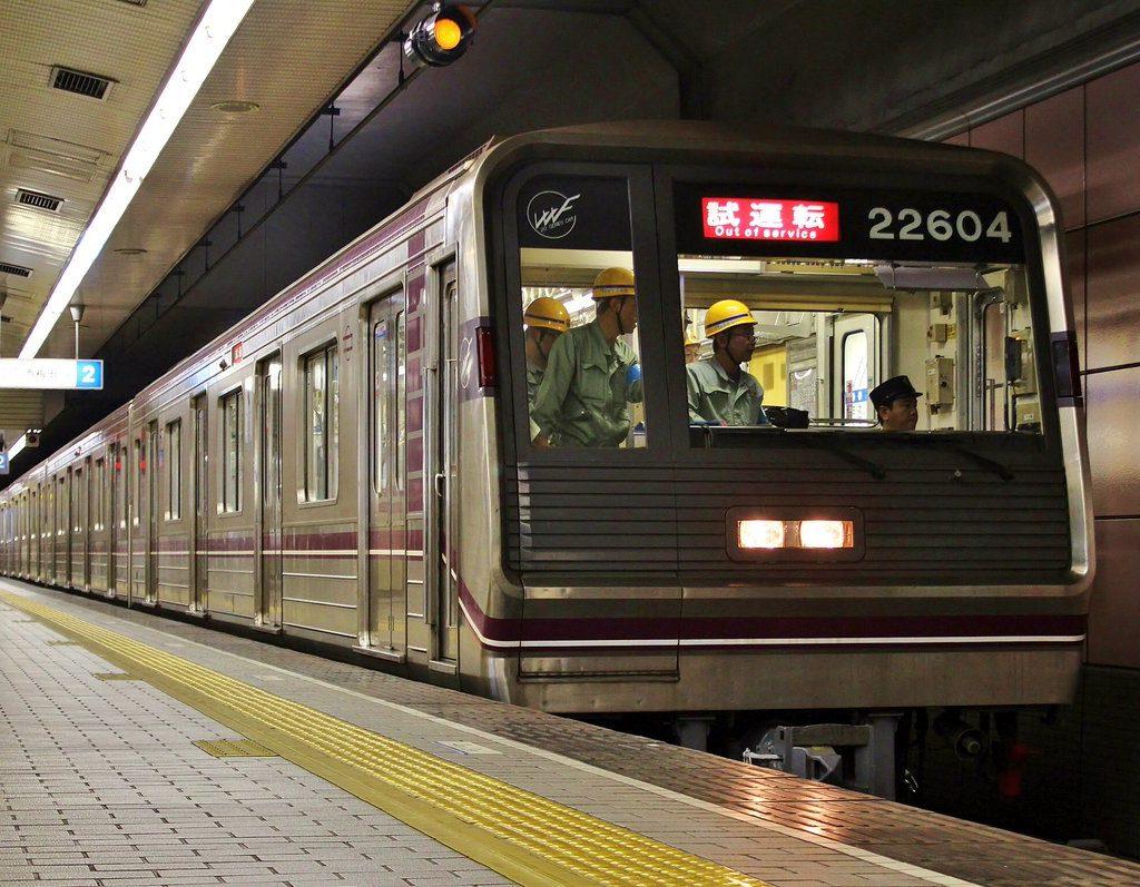 【谷町線】22604F(22系04編成)が出場・試運転を実施