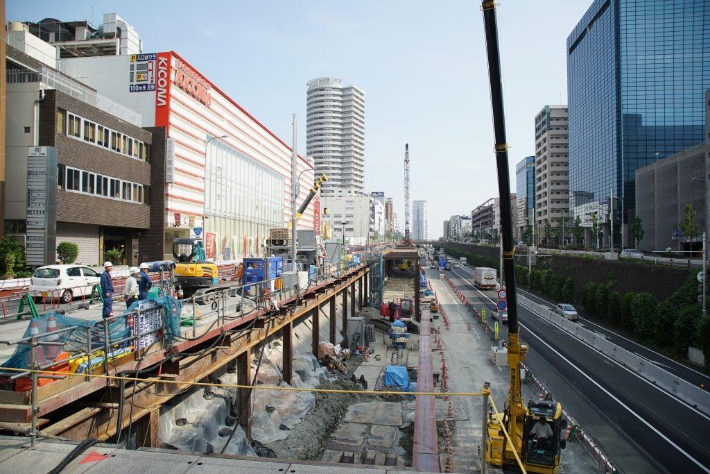 【2017/8】北大阪急行、2020年開業予定の工事現場を見てきました