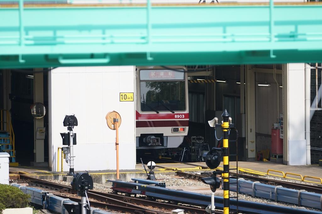 【北大阪急行】運行を休止していた8003Fが営業運転スタンバイ?