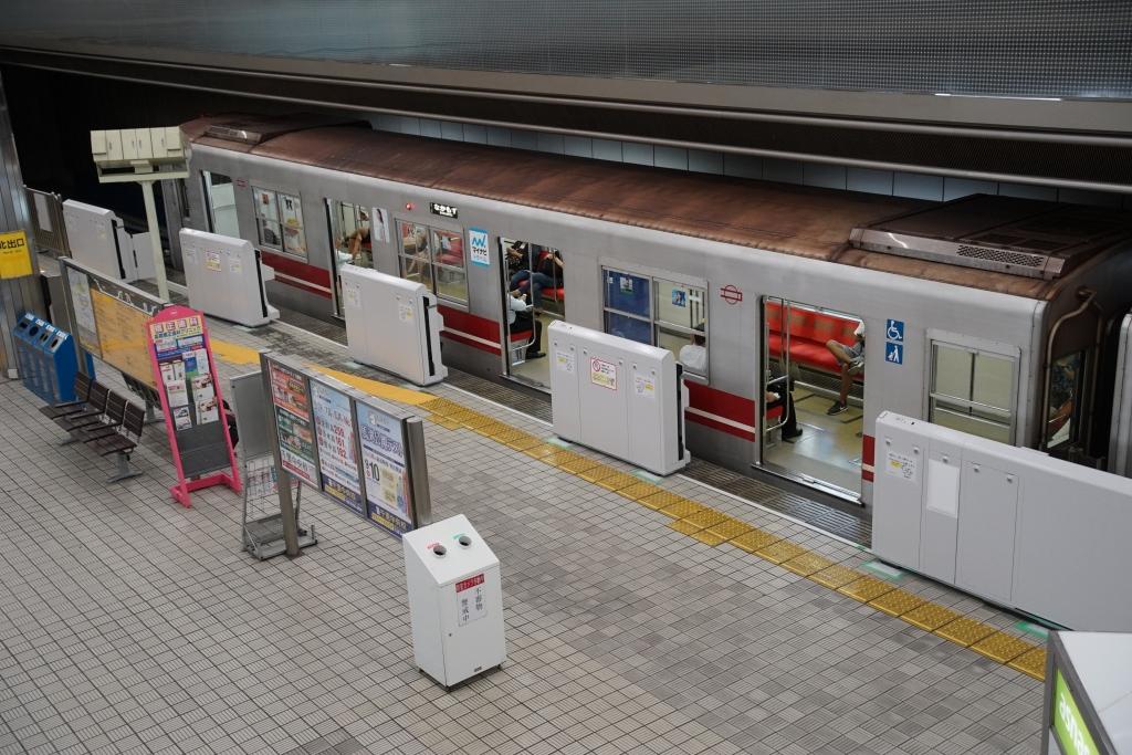 【北大阪急行】千里中央駅のホームドア運用開始日が9/9に決定