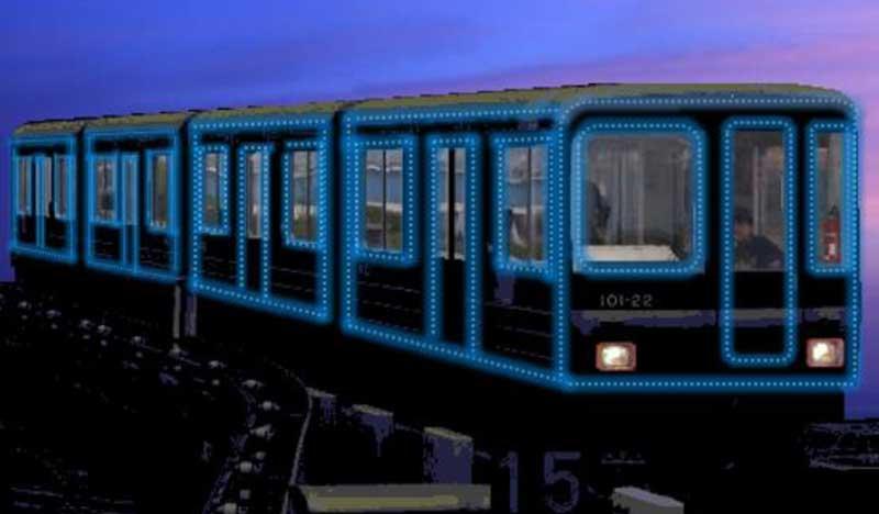 【ニュートラム】史上初!イルミネーション車両を運行へ!