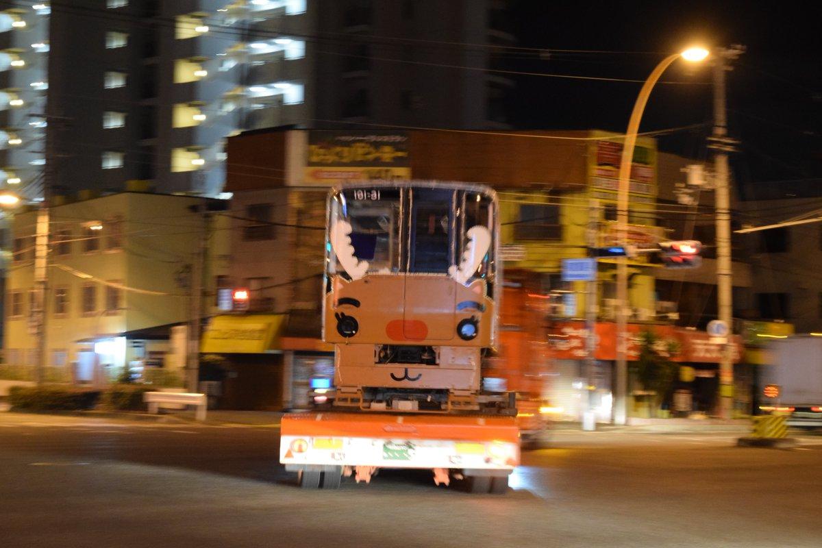 【ニュートラム】100A系トナカイ列車(100-31F)、廃車陸送へ