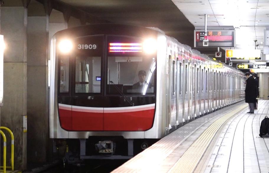 【御堂筋線】新車、30000系09編成が御堂筋線へ入線!