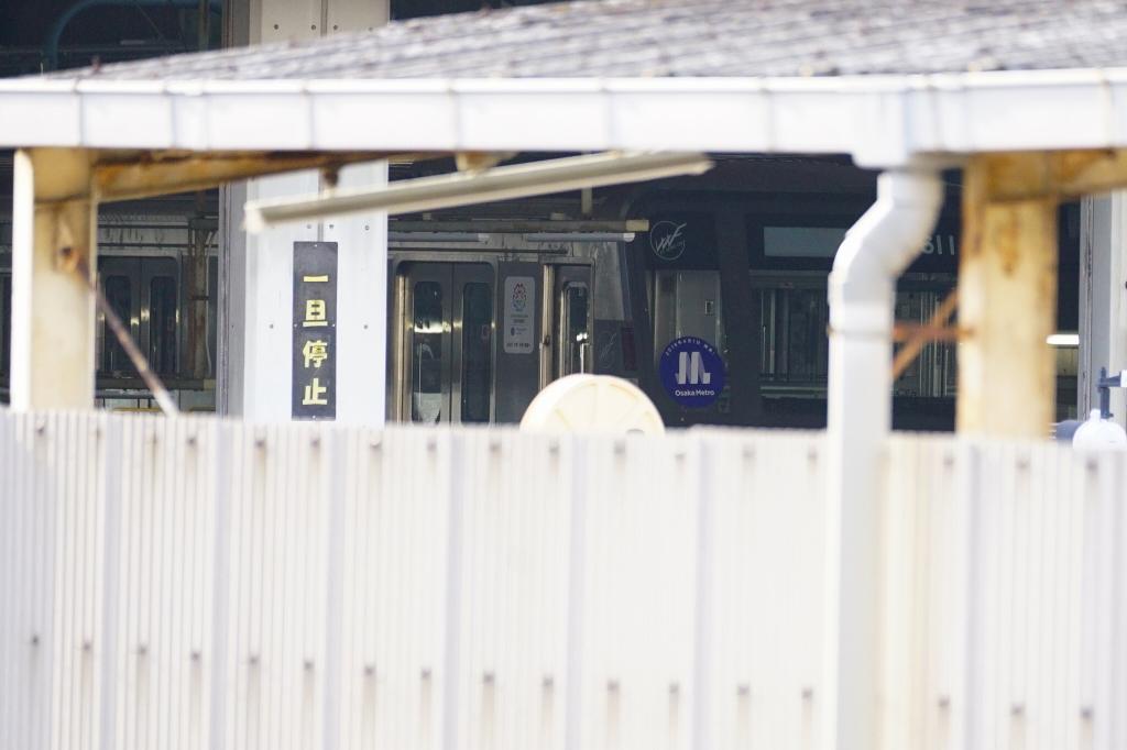 【谷町線】22系11編成に「Osaka Metro」ヘッドマーク掲出…明日から運行か